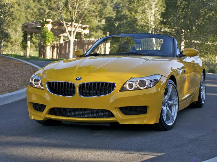 BMW Z4 кабриолет спортивный фото 3