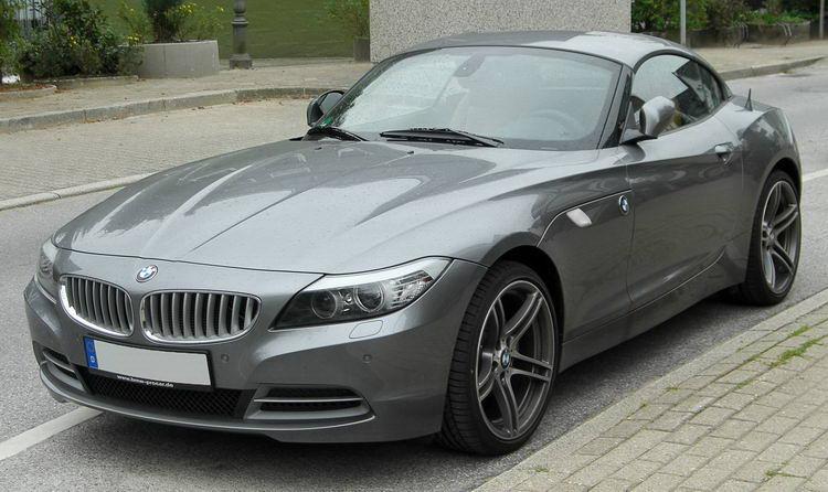 BMW Z4 кабриолет спортивный фото 5