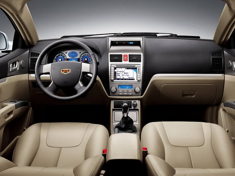 Geely Emgrand фото 2
