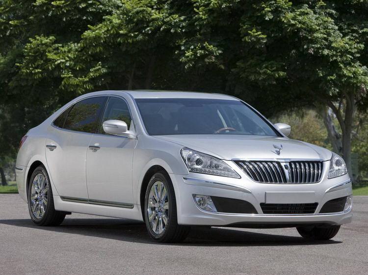 Прокат Hyundai Equus из Алушты по Крыму