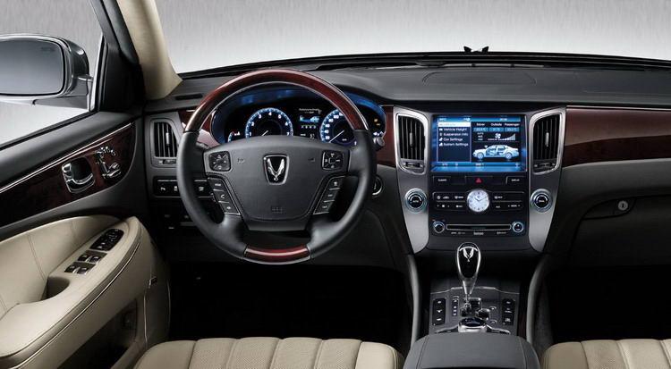 Аренда машины Hyundai Equus без водителя