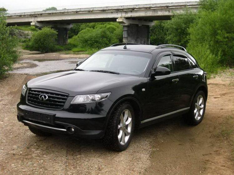 Прокат Infiniti FX35 без водителя по всей территории Крыма
