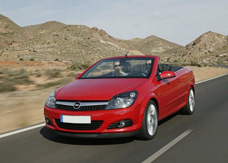 Прокат Opel Astra TwinTop 1 аренда авто в Крыму