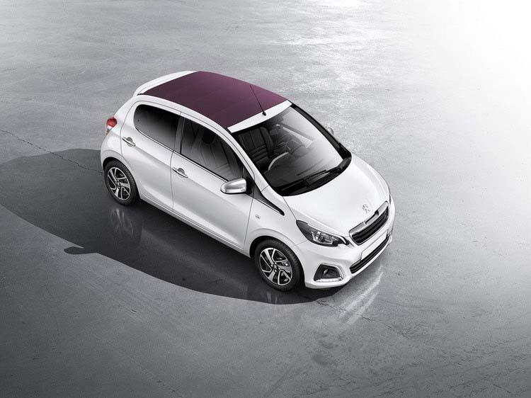 Прокат Peugeot 108 1 прокат авто в Крыму