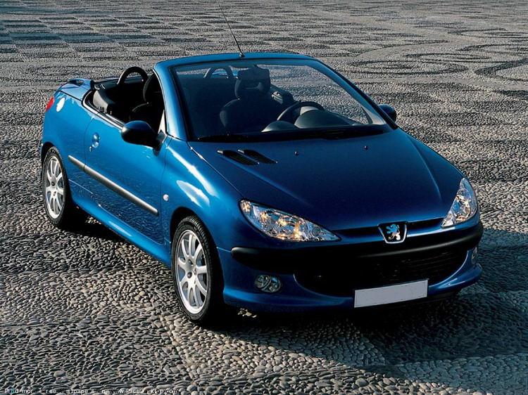 Аренда Peugeot 206 CC