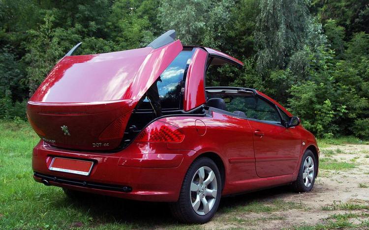 Peugeot 307 CC фото 4