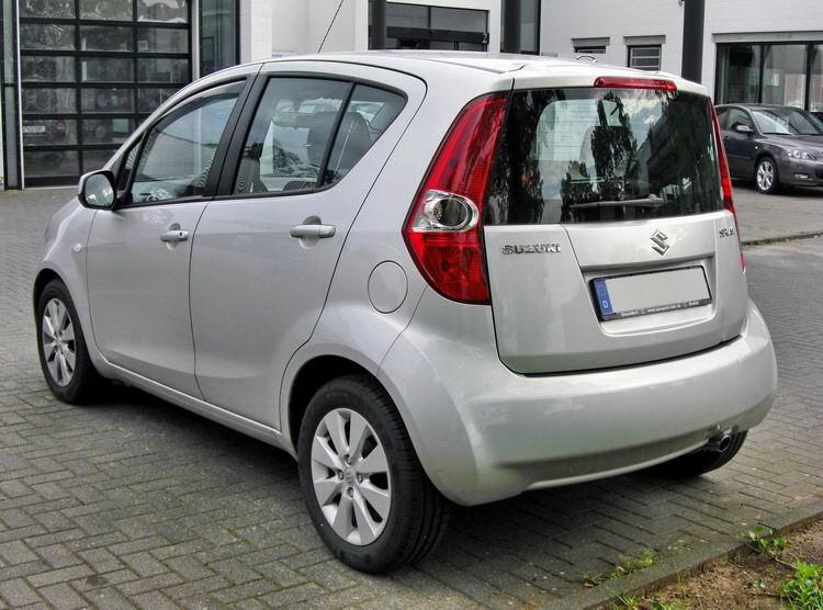 Прокат Suzuki Splash 1 прокат авто в Крыму