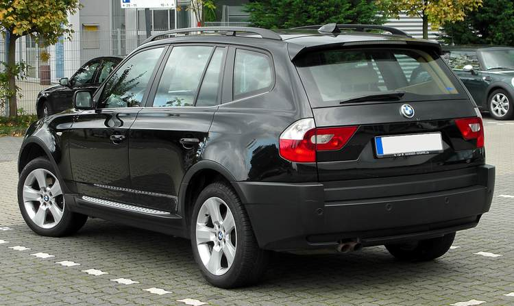 Прокат BMW X3 E83