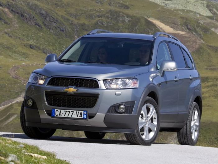 Chevrolet Captiva в Крыму без водителя, фото 7