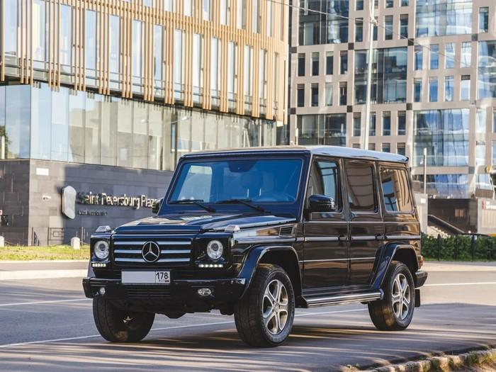 Mercedes-Benz G-class фото 4