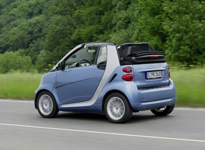 Smart Cabrio в Крыму без водителя, фото 9