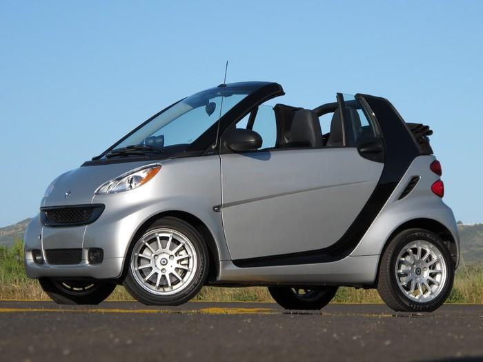 Smart Cabrio в Крыму без водителя, фото 7